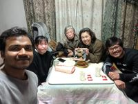 Dinner in takeda's house